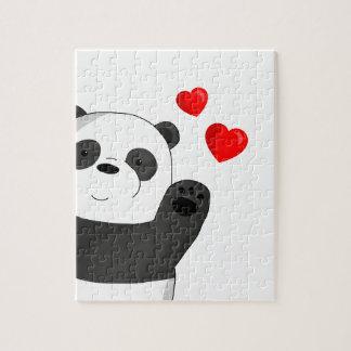 Puzzle Panda mignon