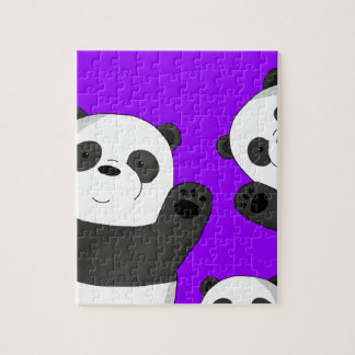 Puzzle Pandas mignons