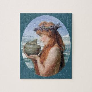 Puzzle Pandore par Alma Tadema, romantisme vintage