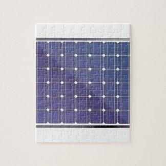 Puzzle Panneau solaire sur le blanc