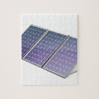 Puzzle Panneaux solaires