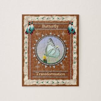 Puzzle Papillon - casse-tête w/Box de transformation