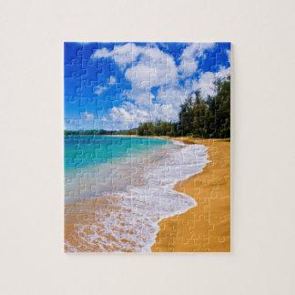 Puzzle Paradis tropical de plage, Hawaï