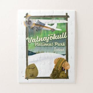 Puzzle Parc national Islande de Vatnajökull