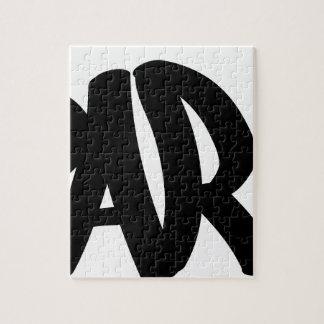 Puzzle Paris-étiquette