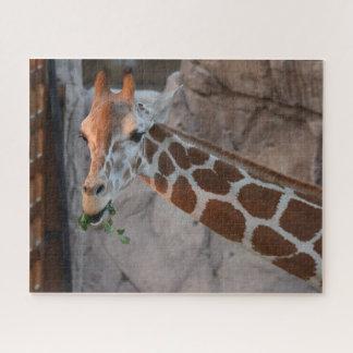 Puzzle Pâturage de la girafe
