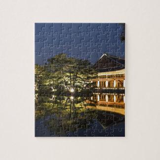 Puzzle Paysage asiatique et palais