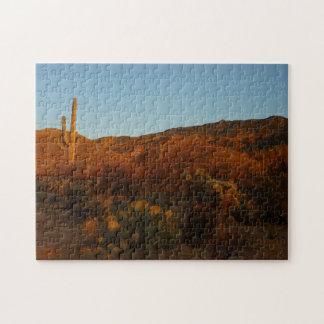 Puzzle Paysage de désert du coucher du soleil I Arizona