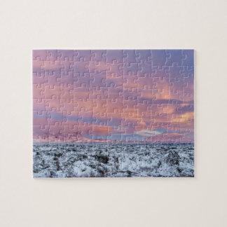 Puzzle Paysage de gisement de lave de Milou, Islande