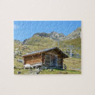 Puzzle Paysage de montagnes de l'Autriche
