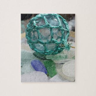 Puzzle Pêche du flotteur sur le verre, l'Alaska