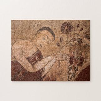 Puzzle Peinture bouddhiste antique