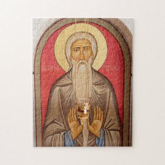 Puzzle Peinture d'un saint plus âgé
