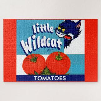 Puzzle Petit étiquette sauvage de caisse de tomates
