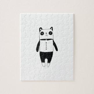 Puzzle Petit panda noir et blanc