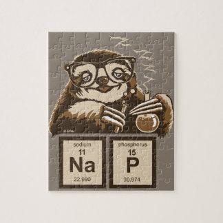 Puzzle Petit somme découvert par paresse de chimie
