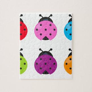 Puzzle Peu d'abeilles merveilleuses de couleur de ressort