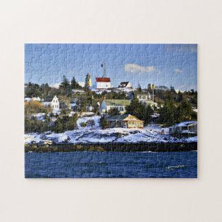 Puzzle Phare d'île de Monhegan, Maine