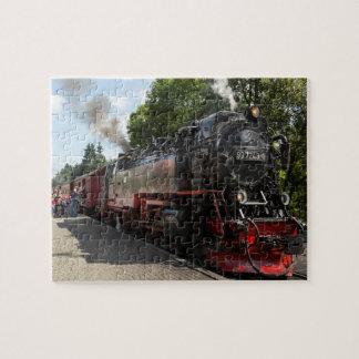 Puzzle Photo de chemin de fer de Brockenbahn Brocken