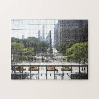 Puzzle Photo de négligence de New York City de cercle de