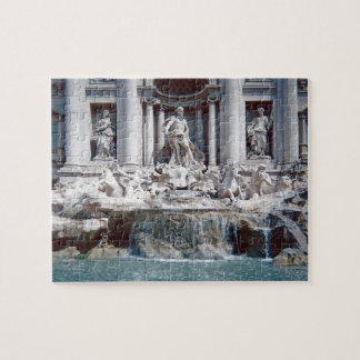 Puzzle Photo de Rome de fontaine de TREVI difficile