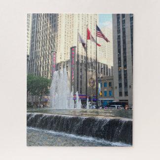 Puzzle Photographie d'avenue de fontaine de New York City