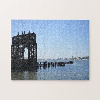 Puzzle Photographie de New York City NYC de dock du