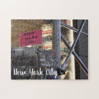 Puzzle Photographie urbaine de touristes de New York City