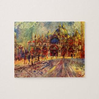 Puzzle Piazza San Marco, Venise par Pierre Renoir