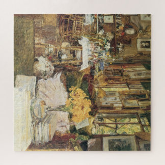 Puzzle Pièce des fleurs par Childe Hassam, beaux-arts