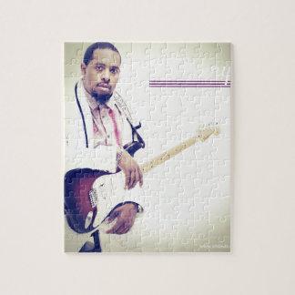 Puzzle Pièce en t de guitare électrique de Jimmy
