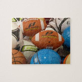 Puzzle Pile de casse-tête de boules de sports