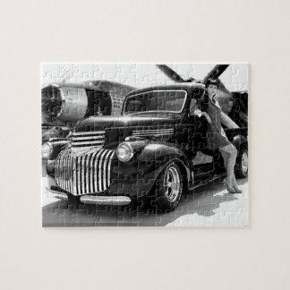 Puzzle Pin 1941 de camion pick-up de hot rod de Chevy