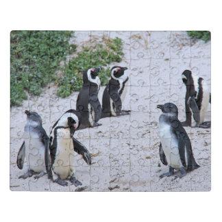 Puzzle Pingouins