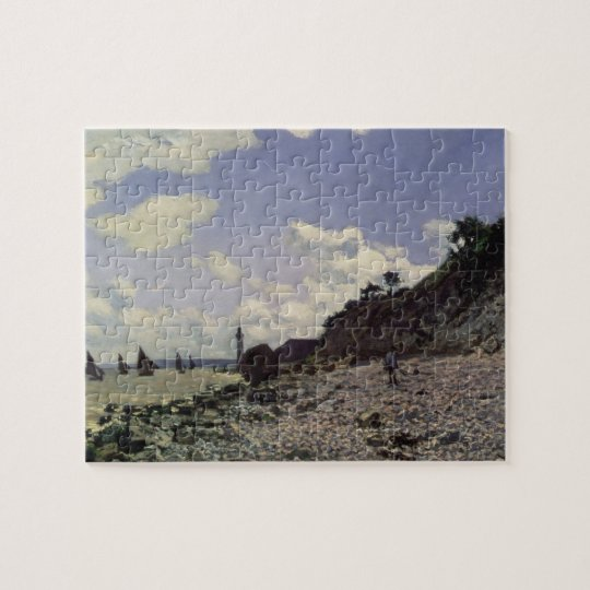 Puzzle Plage de Claude Monet | chez Honfleur, 1864