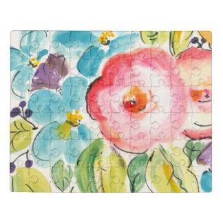 Puzzle Plaisir II de fleur