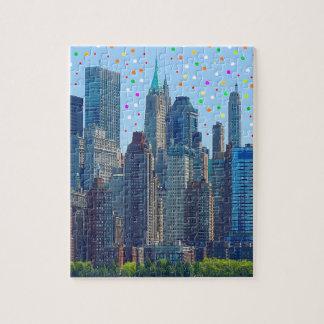 Puzzle Pluie de météores de New York City