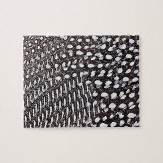 Puzzle Plume casquée de pintade