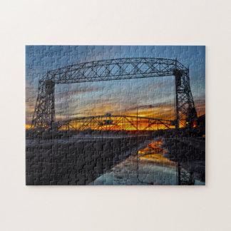 Puzzle Pont d'ascenseur aérien Duluth Minnesota