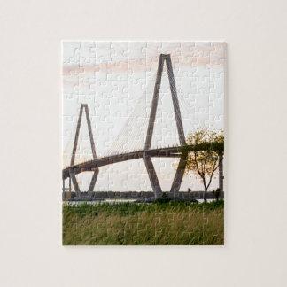 Puzzle Pont de Charleston la Caroline du Sud - rivière de