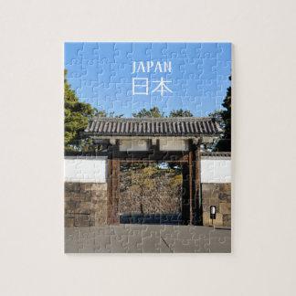 Puzzle Porte de temple à Tokyo, Japon