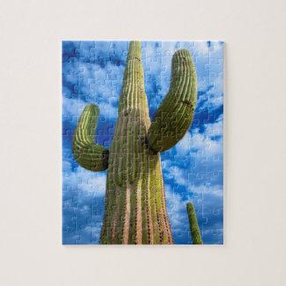 Puzzle Portrait de cactus de Saguaro, Arizona