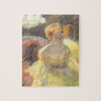 Puzzle Portrait de Lydia à l'opéra par Mary Cassatt