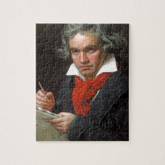 Puzzle Portrait vintage de compositeur, Ludwig von