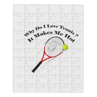 Puzzle Pourquoi font le tennis d'amour d'I. Il me rend