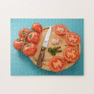 Puzzle Préparation des tomates