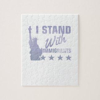 Puzzle Pro statue d'immigration de chemise de liberté
