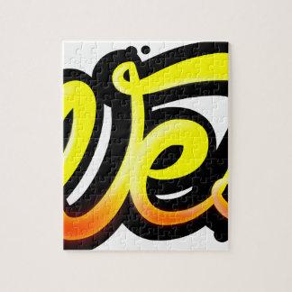 Puzzle Produit graffiti wesh