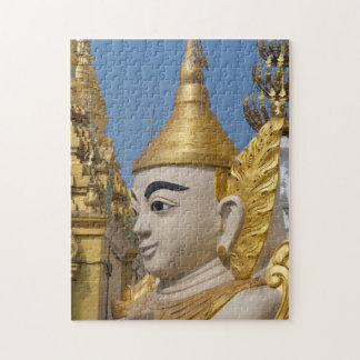 Puzzle Profil de statue de Bouddha