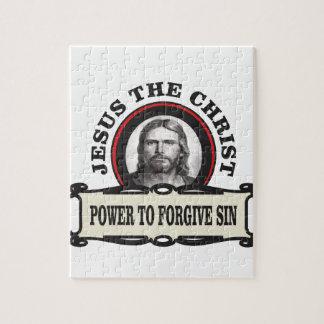 Puzzle puissance de pardonner le jc de péché